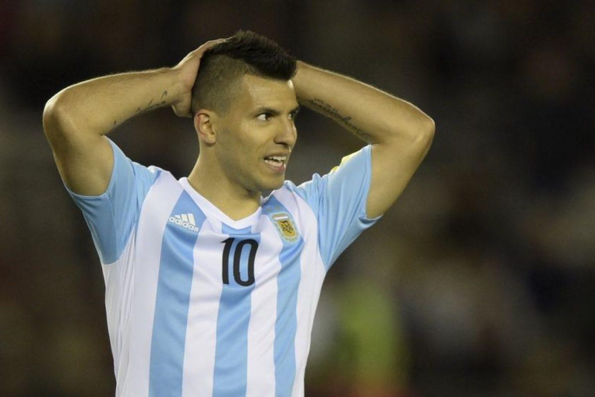 3. Sergio Agüero (Argentina) Foto:AFP. Imagen Por: