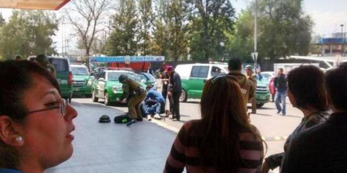 Violenta balacera en Ruta 5 Sur deja dos heridos en Pedro Aguirre Cerda
