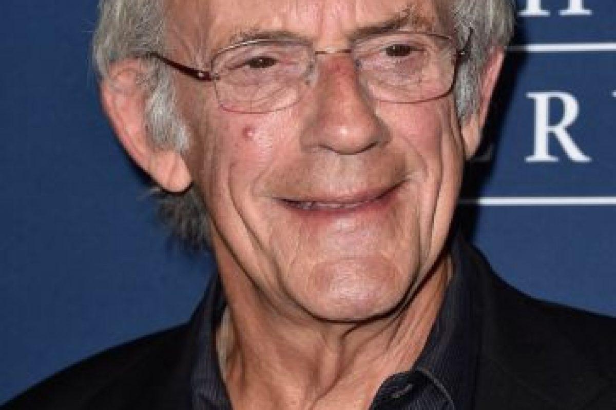 """Actualmente tiene 76 años y mantiene la promoción del mítico """"Doc"""" en convenciones de ciencia ficción. Foto:Getty Images. Imagen Por:"""