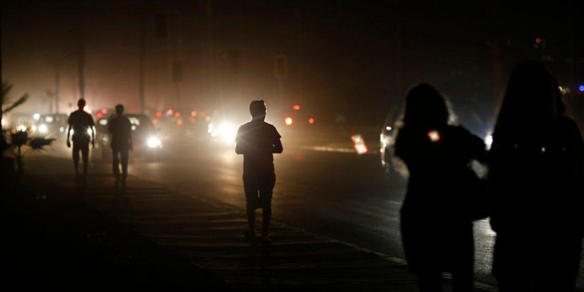 Onemi: hay casi 40 mil clientes sin luz tras sistema frontal