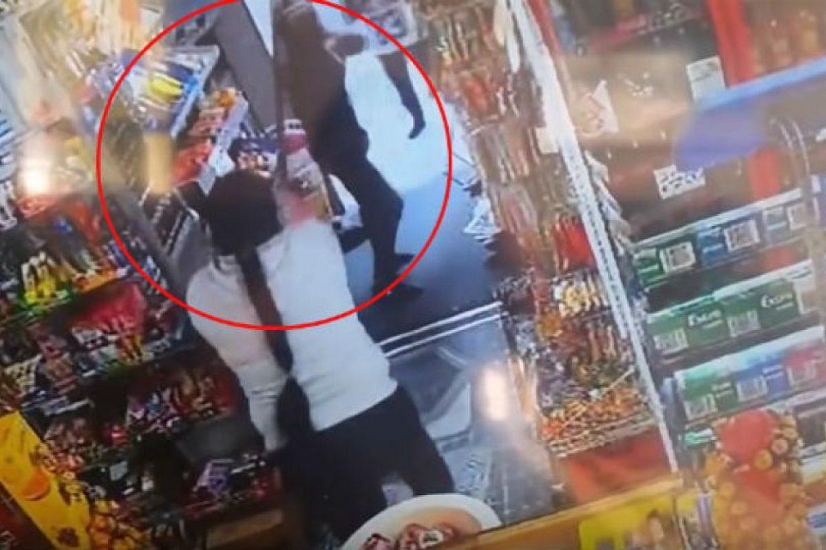 Un desafortunado robo Foto:Vía LiveLeak. Imagen Por: