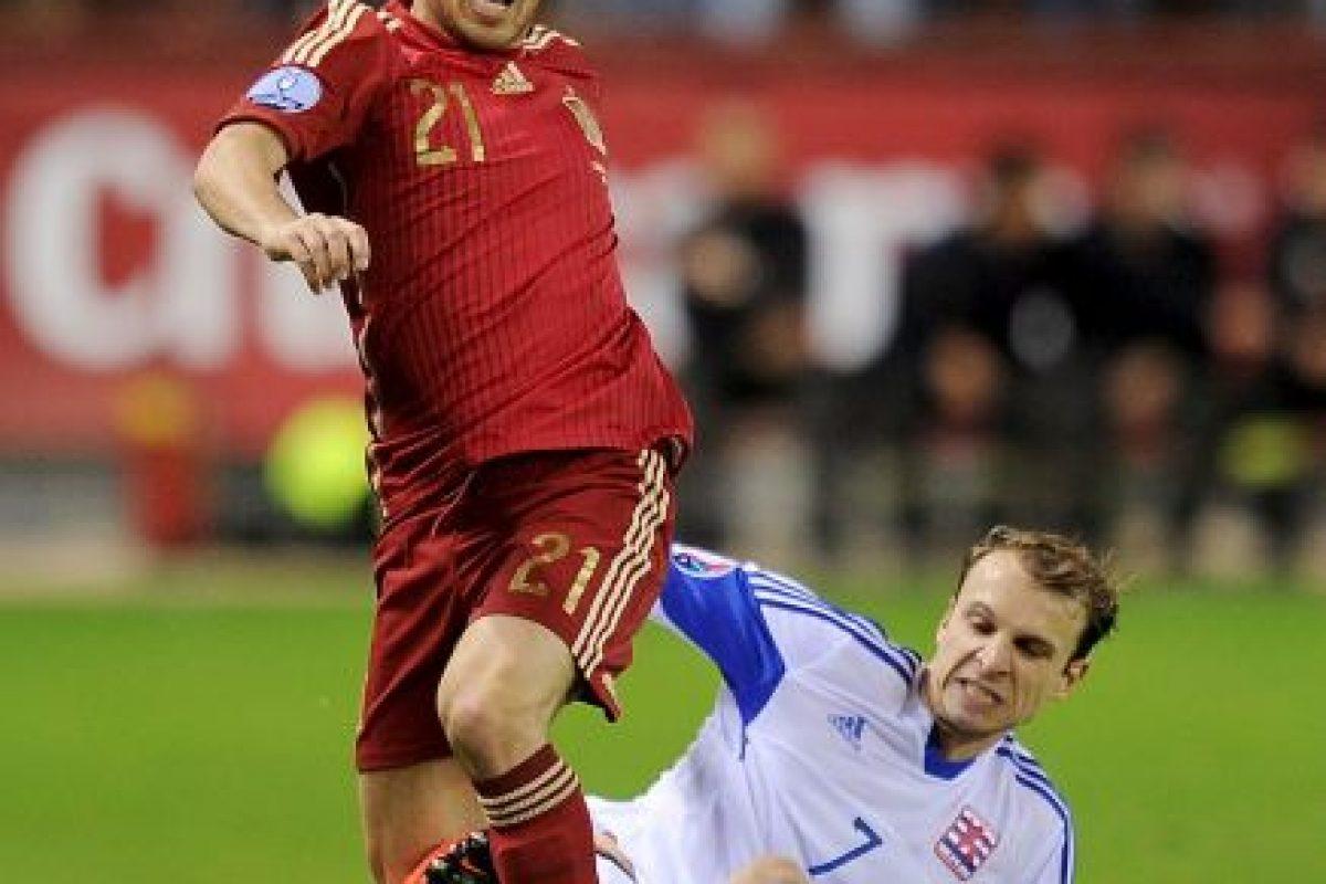 11. David Silva (España) Foto:Getty Images. Imagen Por: