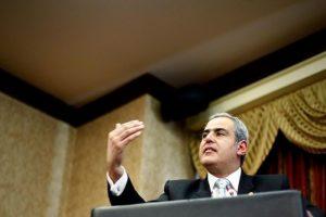 Sabas Chahuán, actual fiscal nacional que deja su cargo en noviembre Foto:Agencia Uno. Imagen Por: