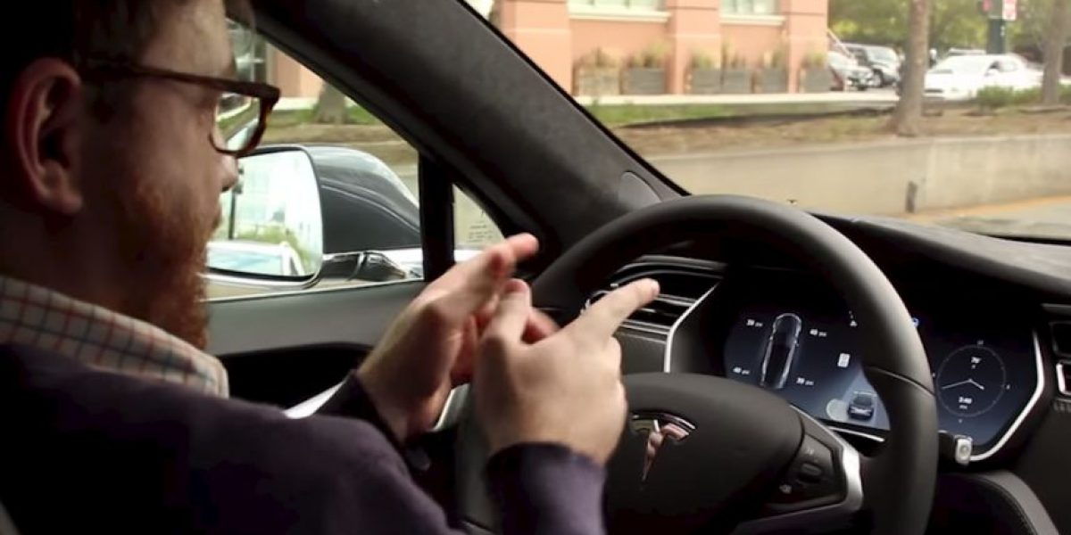 Video: Las imágenes de este auto inteligente están rompiendo la red