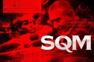 En términos estrictos, aquí SQM aparece en un montaje Foto:Agencia Uno. Imagen Por: