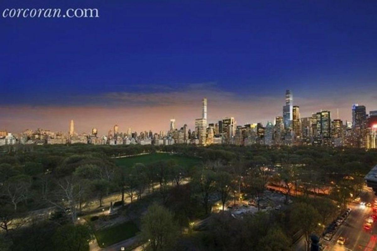 Así se ve la mansión desde el horizonte de Nueva York. Foto:corcoran.com. Imagen Por: