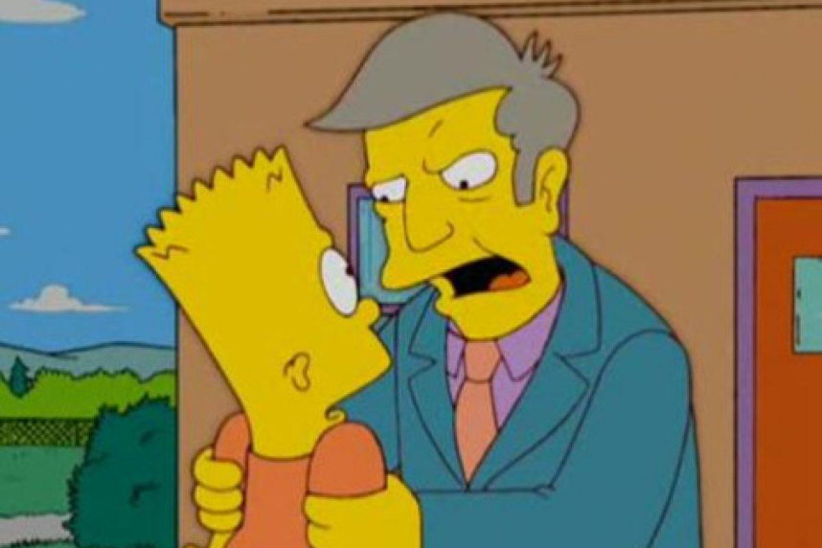 """El profesor y directorSeymour Skinner de """"Los Simpson"""" Foto:Reproducción. Imagen Por:"""
