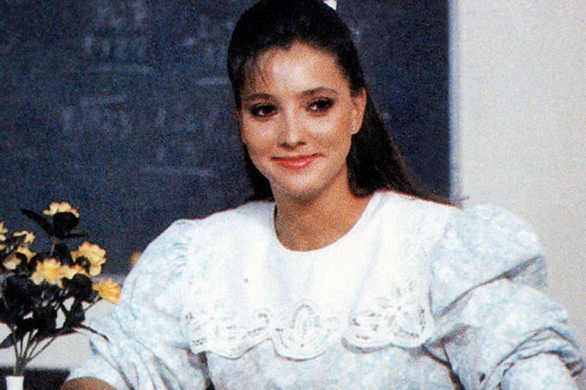 """La maestra Jimena de """"Carrusel de niños"""" Foto:Reproducción. Imagen Por:"""