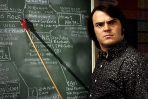 """Jack Black como el señor """"S"""" en Escuela de Rock Foto:Reproducción. Imagen Por:"""