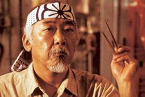 """El maestro Miyagi de """"Karate Kid"""" Foto:Reproducción. Imagen Por:"""