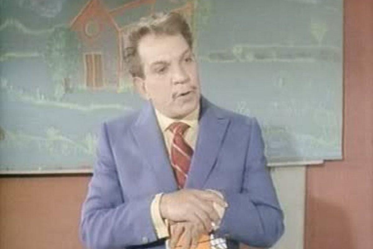 """Cantinflas en """"El Profe"""" Foto:Reproducción. Imagen Por:"""