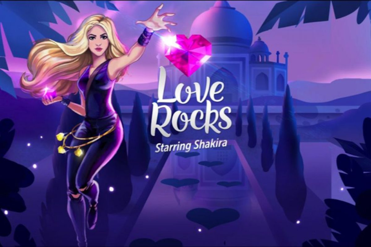 """""""Love Rocks"""" es el nuevo juego para móviles de Shakira. Foto:Rovio. Imagen Por:"""