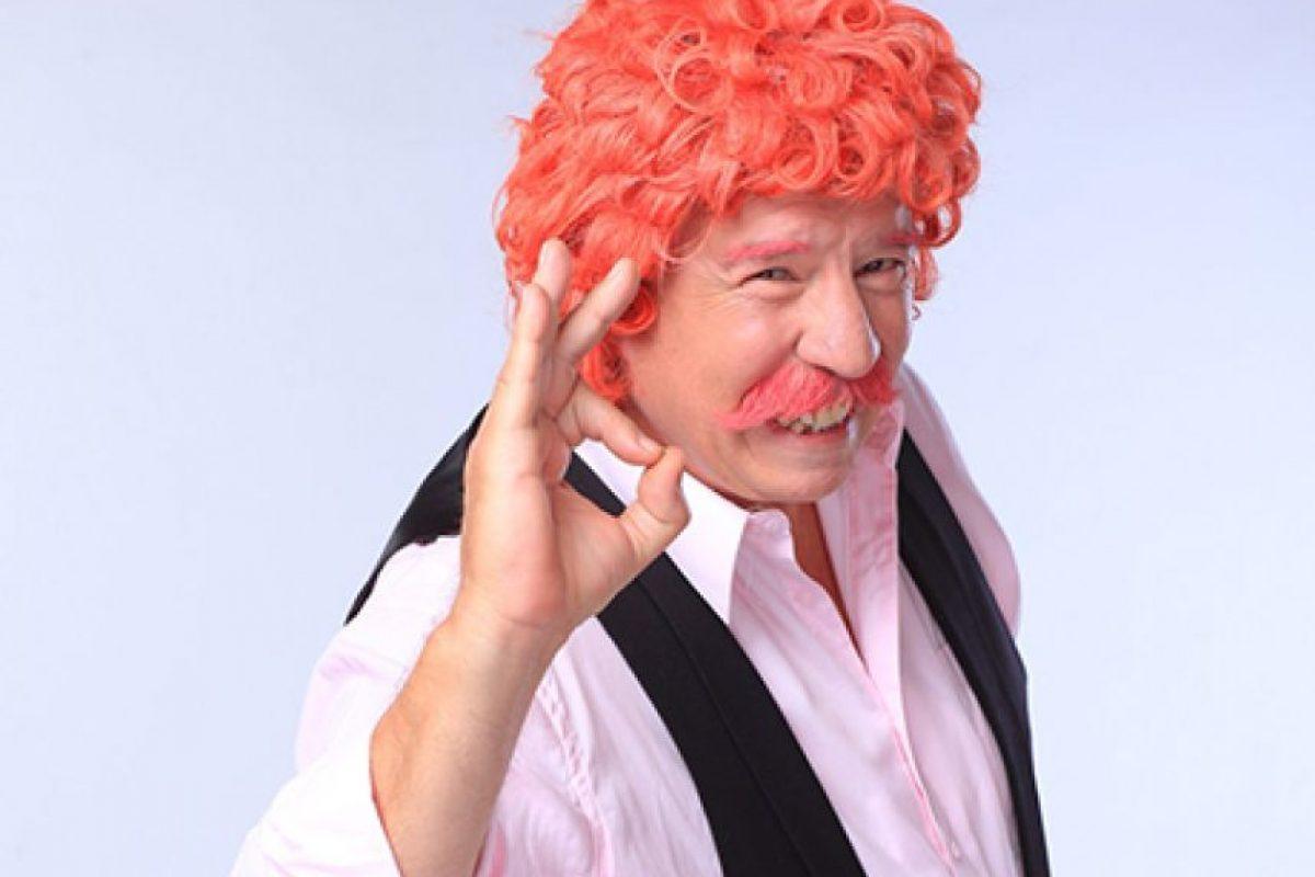 """Iván Arenas como """"El Profesor Rossa"""" Foto:Agencia Uno. Imagen Por:"""