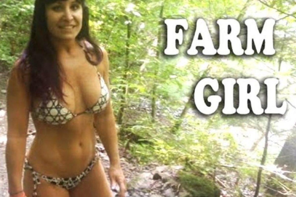 "Se hace llamar ""Farm Girl"" Foto:Vía Facebook.com/bansheemoongirl. Imagen Por:"