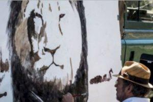 Ni le pasó nada. Foto:vía AFP. Imagen Por: