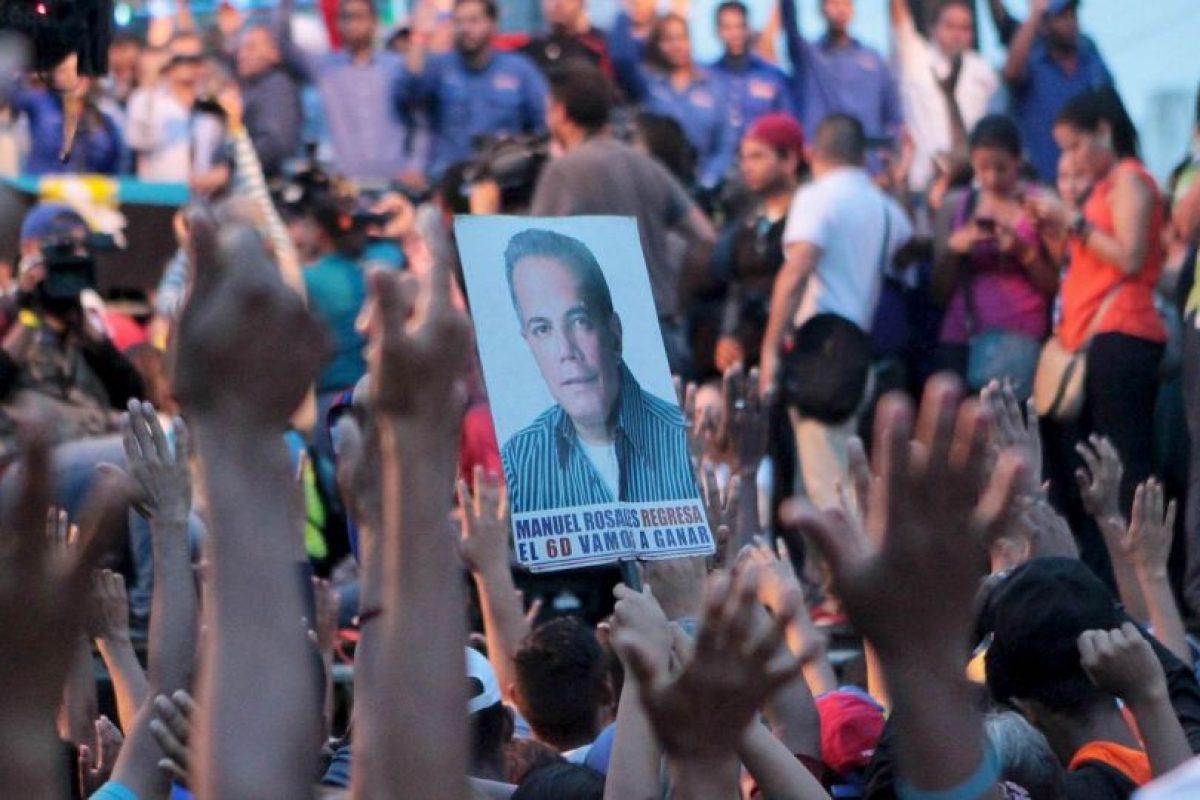 El excandidato opositor fue arrestado por agentes del servicio de inteligencia (Sebin). Foto:AP. Imagen Por: