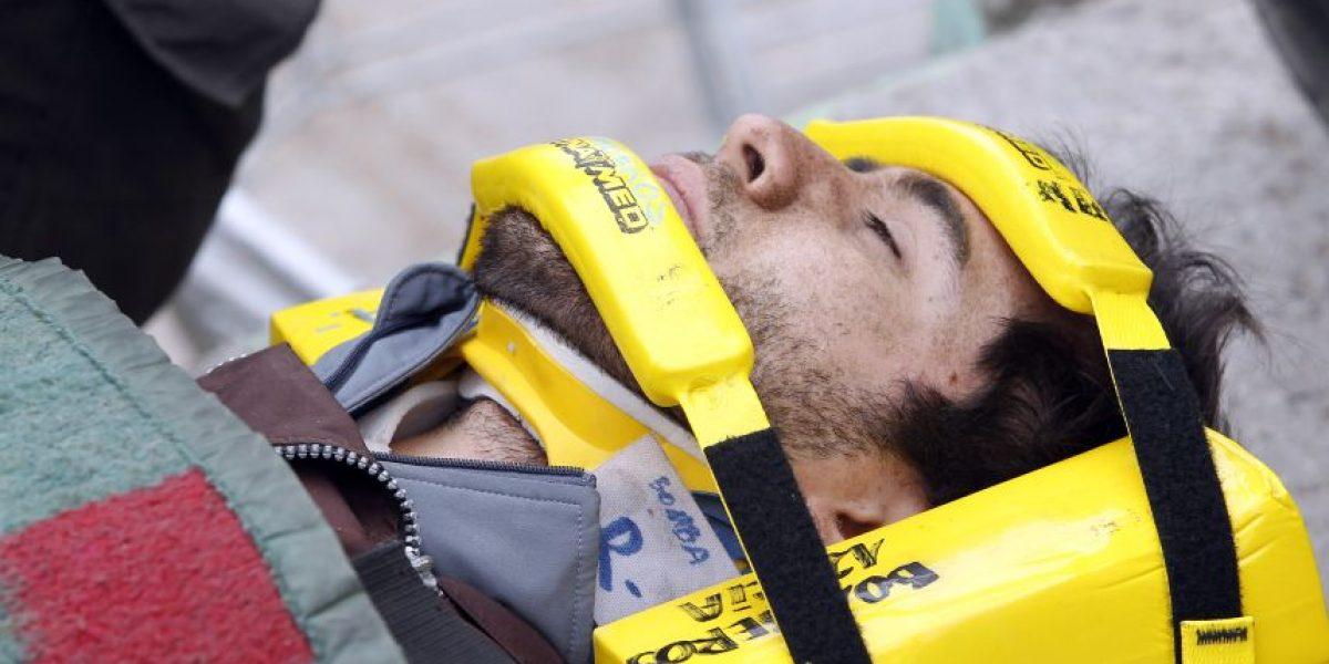 Politraumatizado resultó parapentista en el Cerro Dragón de Iquique