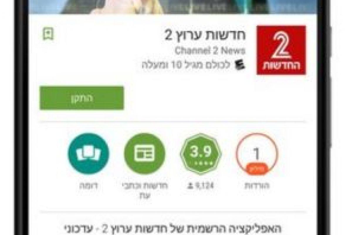 La descripción de las aplicaciones. Foto:vía plus.google.com/+KirillGrouchnikov. Imagen Por:
