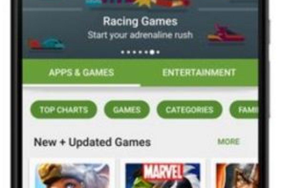 La categoría de apps y juegos. Foto:vía plus.google.com/+KirillGrouchnikov. Imagen Por: