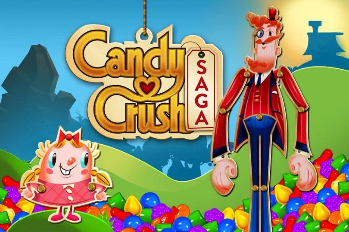 """1- """"Candy Crush Saga"""". Foto:King. Imagen Por:"""