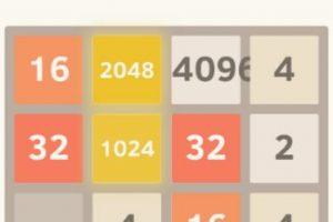 """""""Cuando dos fichas con el mismo número se tocan, se funden en una sola. Cuando se crea el azulejo 2048, el jugador gana"""". Foto:digiplex.in. Imagen Por:"""