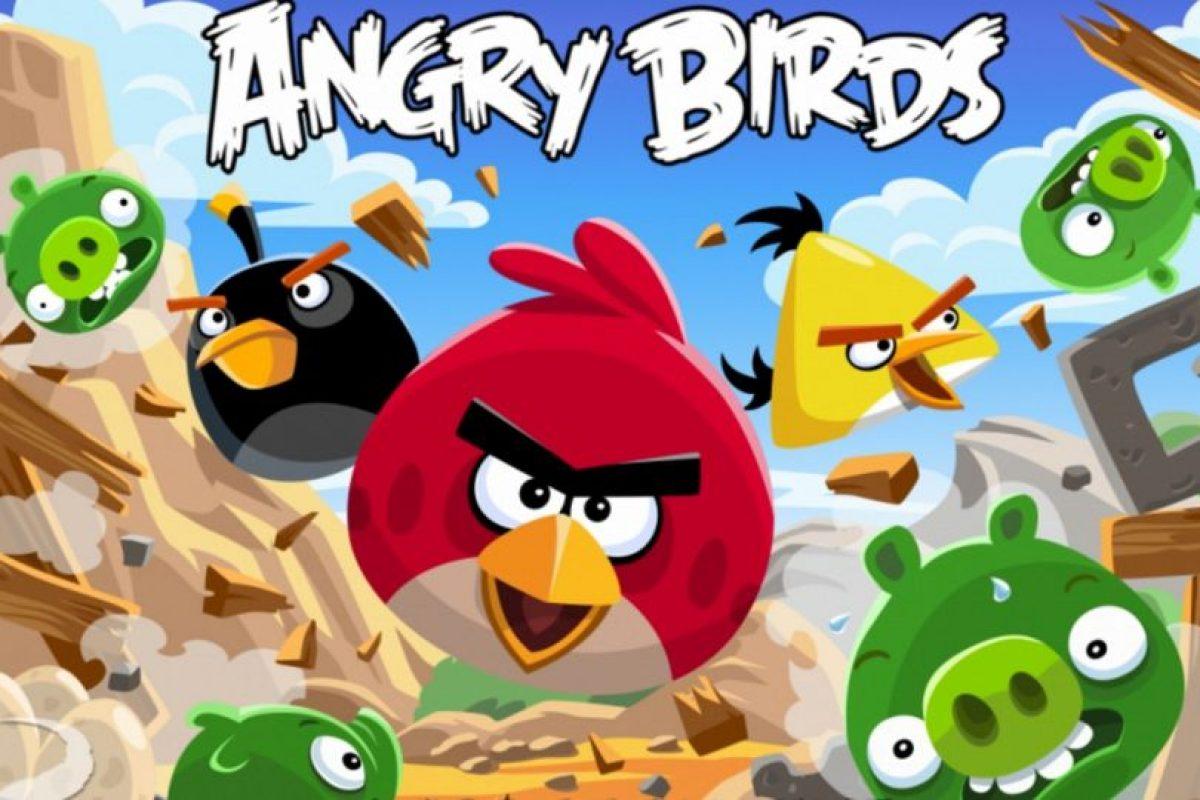 "5- ""Angry Birds"". Foto:Rovio. Imagen Por:"