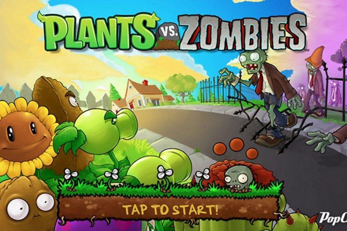 """7- """"Plantas vs. Zombies"""". Foto:Electronic Arts. Imagen Por:"""