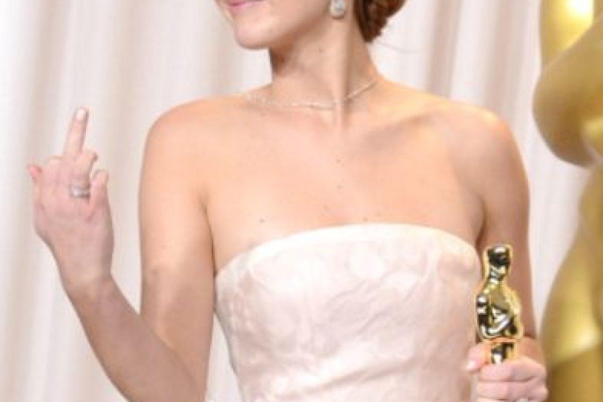 Jennifer Lawrence le confesó a Seth Myers que jamás había estado en una fiesta después de los Globos de Oro y los Óscar. Foto:vía Getty Images. Imagen Por: