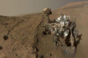 """Ya que el envío más """"exprés"""" de la Tierra a Marte tarda nueve meses, los astronautas deberán de cultivas sus alimentos en el árido suelo marciano Foto:Getty Images. Imagen Por:"""