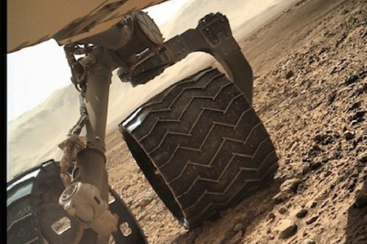 7. El viaje a Marte Foto:Instagram.com/MarsCuriosity. Imagen Por: