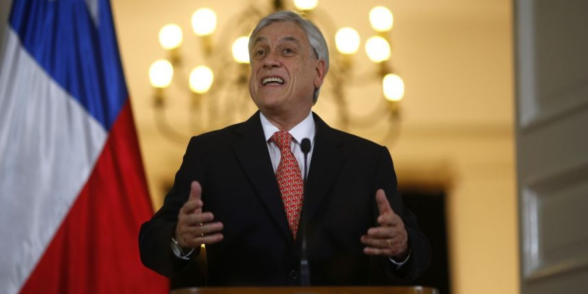 Piñera anuncia proyecto paralelo al Gobierno de nueva Constitución