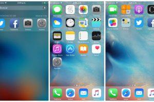 Las pantallas de inicio del iPhone Foto:Publimetro / Víctor Jaque. Imagen Por:
