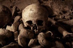 Los esqueletos serán parte de la experiencia. Foto:Airbnb. Imagen Por: