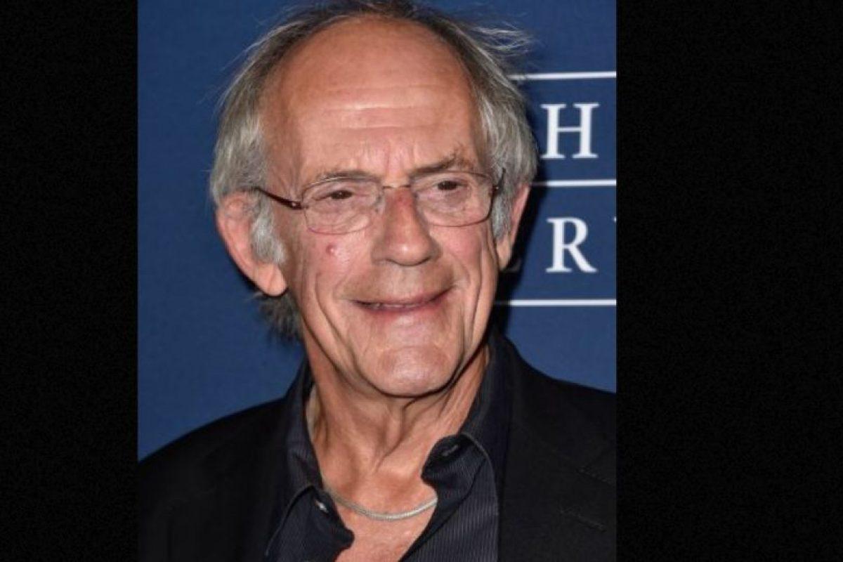 """Actualmente tiene 76 años y mantiene la promoción del mítico """"Doc"""" en convenciones de ciencia ficción. Foto:vía Getty Images. Imagen Por:"""