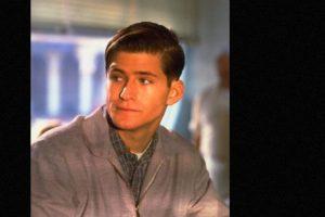 """Crispin Glove encarnó a """"George McFly"""", el chico tímido que se convertirá en el padre de """"Marty"""" Foto:vía IMDB. Imagen Por:"""