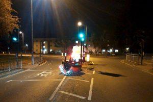 Esto fue lo que vieron las autoridades al llegar a la zona Foto:Facebook.com/KingstonPolice. Imagen Por: