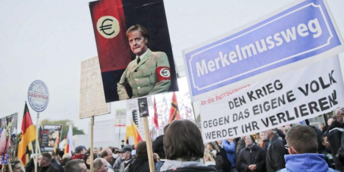 Miles de alemanes se manifiestan pidiendo deportaciones masivas de extranjeros