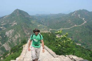 El zip-line les permite una vista privilegiada de la Gran Muralla China Foto:greatwallhiking.com. Imagen Por: