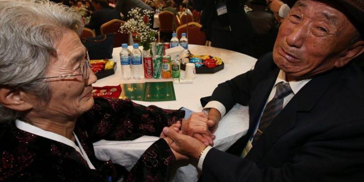 Emotivo reencuentro de familias coreanas tras 60 años separados