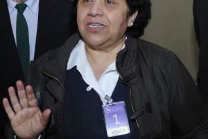 Nelly Díaz, presidenta de los trabajadores del Registro Civil. Foto:Archivo Agencia Uno. Imagen Por: