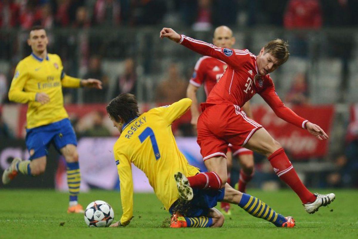 Arsenal vs. Bayern Munich en Emirates Stadium, Londres. Foto:Getty Images. Imagen Por: