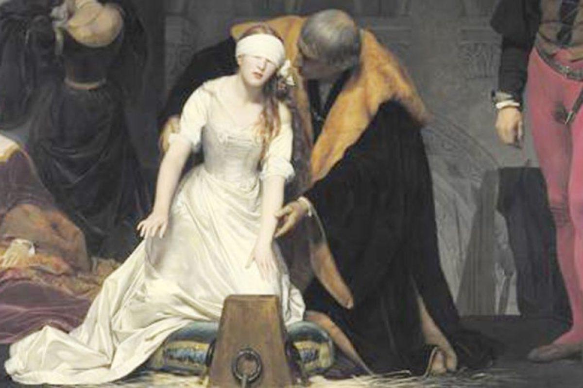 Esto dura unos segundos después de la decapitación. Foto:vía Wikipedia. Imagen Por: