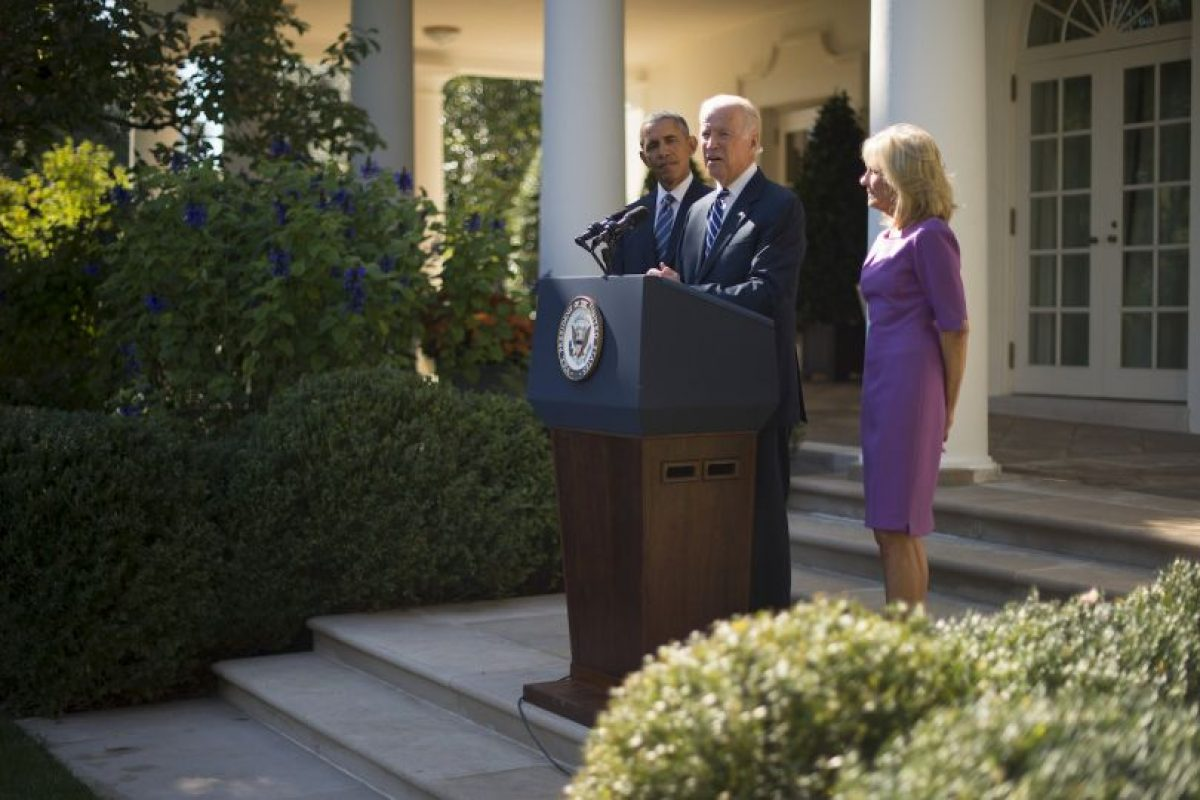 Estuvo acompañado del presidente estadounidense Barack Obama. Foto:AFP. Imagen Por: