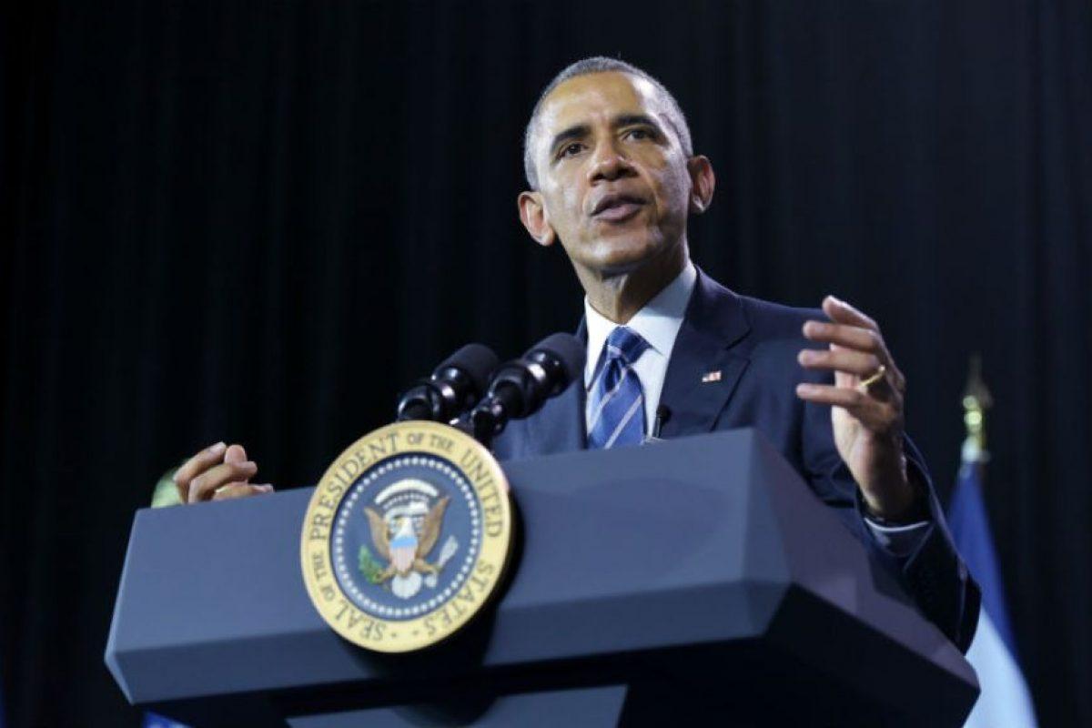 El presidente estadounidense Barack Obama, señaló a las drogas como una amenaza para su país. Foto:AFP. Imagen Por: