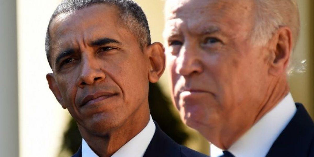 Joe Biden renuncia a su candidatura a la Casa Blanca en 2016