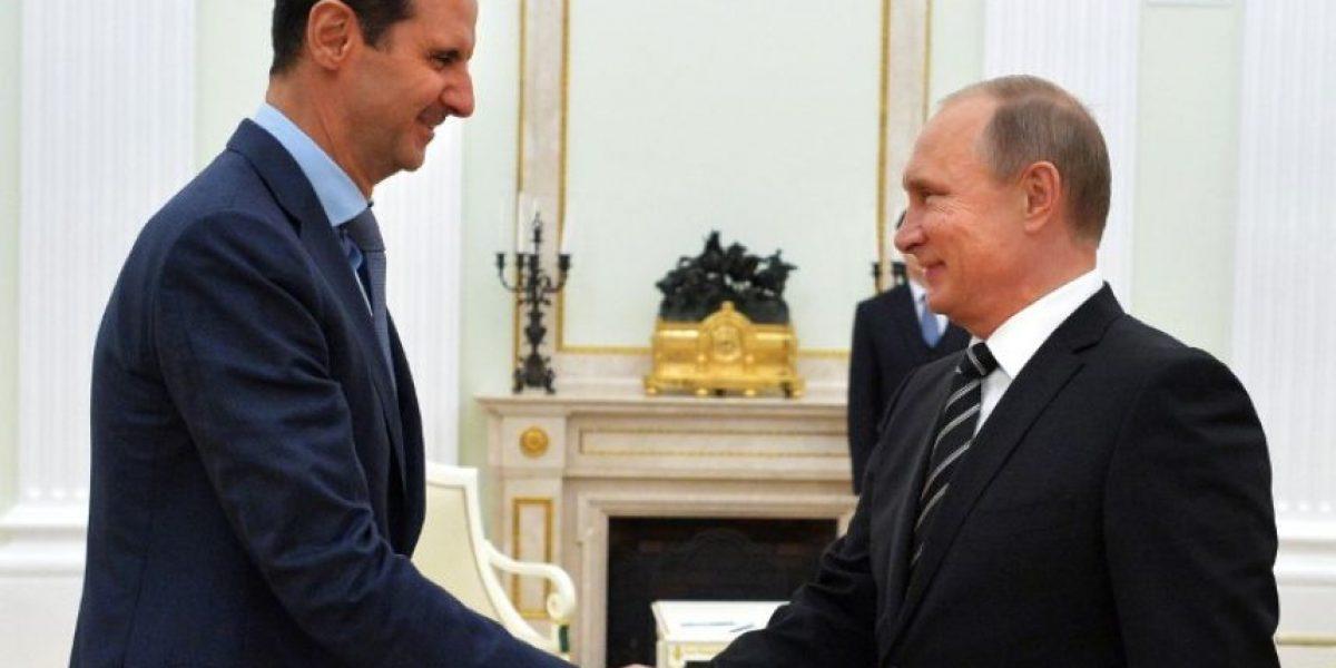 Al Asad hace una visita sorpresa a Moscú para reunirse con Putin