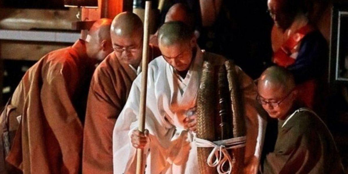 Ayuno extremo:monje budista pasó nueve días sin comer, beber ni dormir