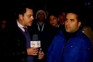 El vocero de los dependientes Foto:Reproducción / Chilevisión. Imagen Por: