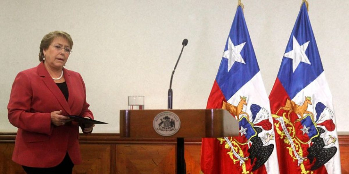 """Presidenta Bachelet por paro del Registro Civil: """"No es una huelga legal"""""""