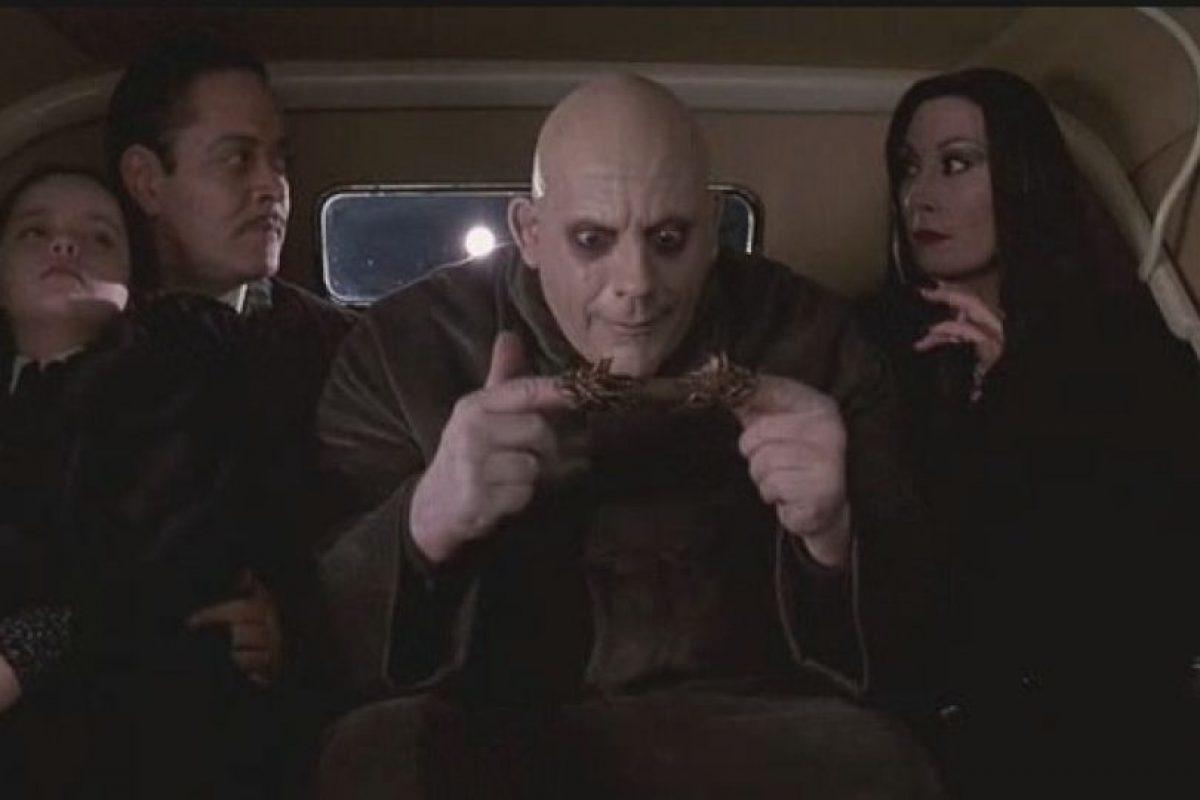 "En 1991 formó parte de la misteriosa familia ""Addams"" Foto:IMDB. Imagen Por:"